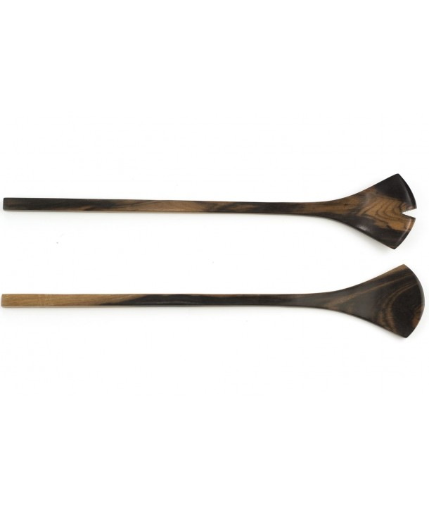 Couverts fins gingko en bois