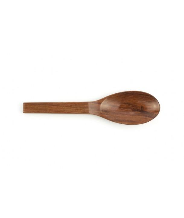 Grosse cuillère ovale en bois