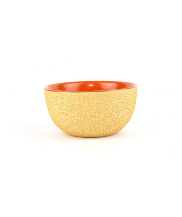 Set de 6 bols picots en orange