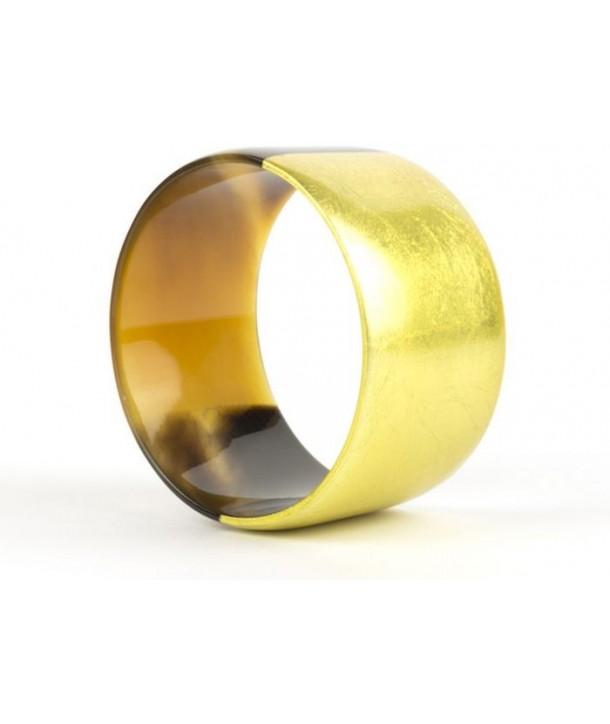 Bracelet large laqué or