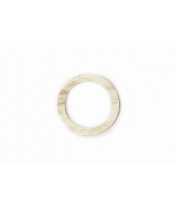 Scarf ring in blond african zebu
