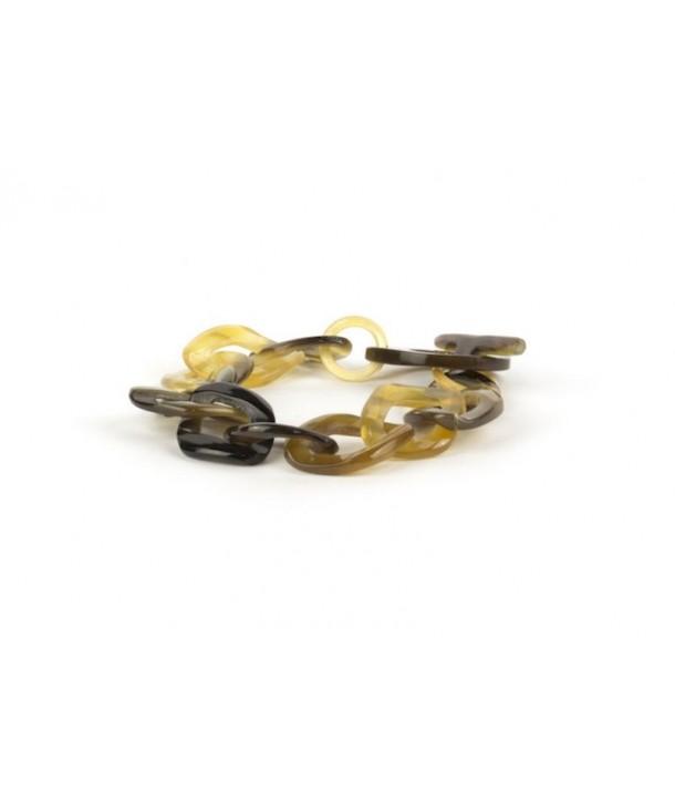 Bracelet écailles fines en sabot