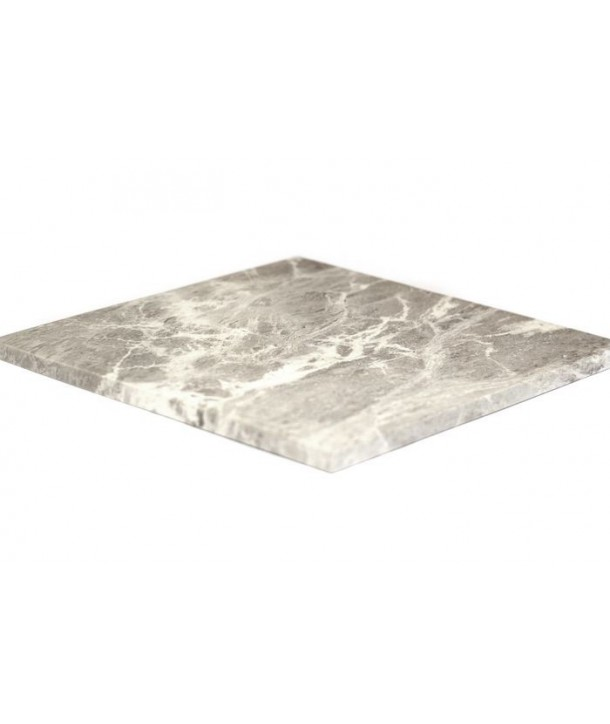 Dessous de plat carré en pierre à savon naturelle