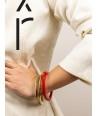 Bracelet in blond horn