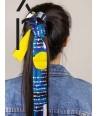 Headband in doubled silk